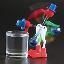 Vintage Retro Happy Drinking Glass Bird Novelty Toy Dipping Dippy Bobbing Duck R