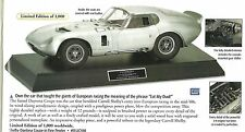 Franklin Mint Carroll Shelby Daytona Cobra Coupe 427 S/C Pewter LE 1000 1:12 MIB