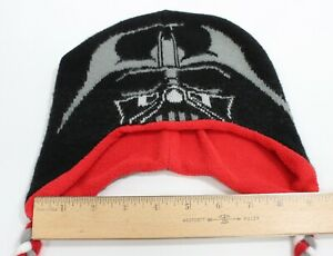 Beanie Hat/Cap Youth to Adult stretch, Star Wars DARTH VADER Knit & Fleece lined