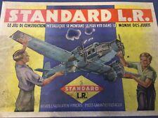 Standard L.R , boite complète avion trimoteur made in france