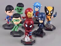 8pcs Marvel Avengers Super Hero Incredible Action Figure Toy Doll Collection