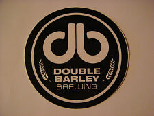 Beer STICKER ~ DOUBLE BARLEY Brewing ~ Smithfield, NORTH CAROLINA <> Opened 2013