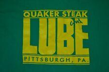 VTG Quaker Steak & Lube Pittsburgh PA Restaurant Bar Wings T Shirt Medium Nice