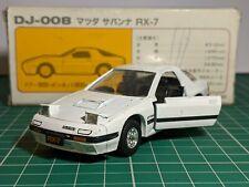 Mazda RX-7 Savanna White JDM RHD 1/43 TOMICA DANDY Rare
