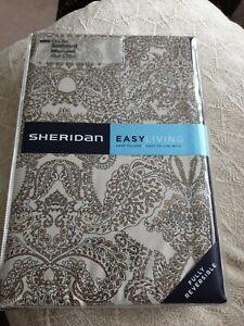 Sheridan Shefield Pillow Cases, Malt, One Pair, Bnwt