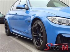 Performance Style Carbon Fiber Extension Side Skirts Rocker Lip For BMW M3 F80