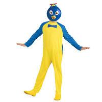 Child Boys Backyardigans Nick Jr Pablo Halloween Costume Jumpsuit Face Mask