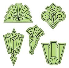 Inkadinkado Stamping Gear Cling Stamps, Frame Designs Scrapbooking Stamp Set