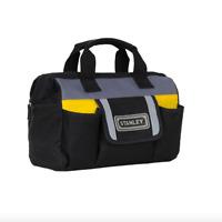 Stanley Small 12 inch Tool Bag Tote Storage Zipper Portable Pockets Organizer