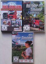 Holzfäller Simulator 2012 + Truck Simulator Complete Edition + Agrar 2011 PC