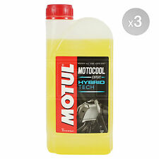 Motul Motocool Expert Ready To Use Motorcycle Cooling Liquid 3 x 1 Litres 3L