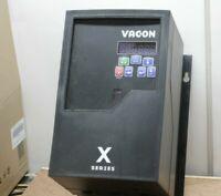 E-027, VACON VFD, SE2C20010D01, 200-240 Vac, 1HP, 3 Phase, Constant Torque