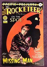 Pacific Presents The Rocketeer 2 (On The Spot/Missing Man Signed Dave Steve NM