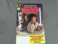 Star Wars Free Comic Book Day Dark Horse Comics 2005 Obi Wan Anakin Clone Wars