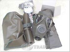 BW ABC-Gasmaske M65 Z UNBENUTZT mit BW Filter verplombt MaskenTascheBESTZUSTAND