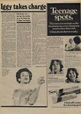 Iggy Pop takes charge Interview/article 1977