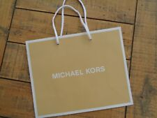 "Michael Kors Heavy Paper Small Carrier Bag 10""  x 8"" - 25cm x 20cm"