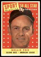 1959 Topps Nellie Fox Chicago White Sox #479