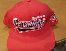 Montreal Canadiens Hat Snapback Starter  NHL Hockey Vintage  cool