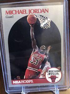 1990-91 NBA Hoops Michael Jordan #65 Basketball Card