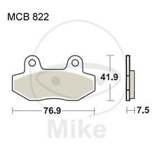 Plaquette de freins Standard TRW Lucas MCB822