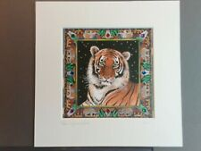 More details for suzanne le good limited edition print 4/200 'india' tiger bn
