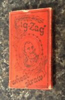 Rare Vintage 1960's Era Zig-Zag Wheat Straw Rolling Papers