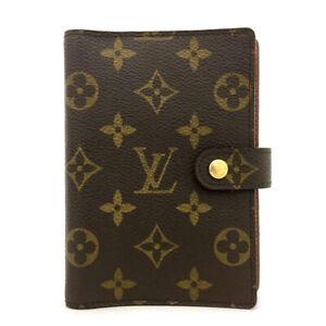100% Authentic Louis Vuitton Monogram Agenda PM Notebook Cover /70960
