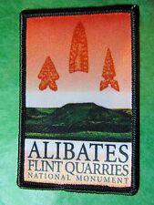 ALIBATES FLINT QUARRIES NATIONAL MONUMENT TEXAS TRAVEL SOUVENIR PATCH (147)