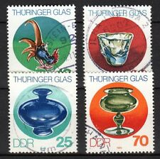 Germany / DDR - 1983 Thuringen glassware- Mi. 2835-38 FU
