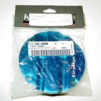 Kuryakyn Hypercharger Trap Door Candy Blue - Blood Groove - 8480