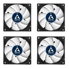 4 x Arctic Cooling F8 80mm Case Fans 2000 RPM (AFACO-08000-GBA01) AC Artic