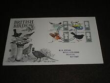 "1966 GB Stamps BRITISH BIRDS ""STUART"" FDC With TAUNTON - SOMERSET Cancel"