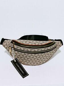 Men Women Fanny Pack Unisex Waist Bag Faux Leather Fashion Designer Inspired New