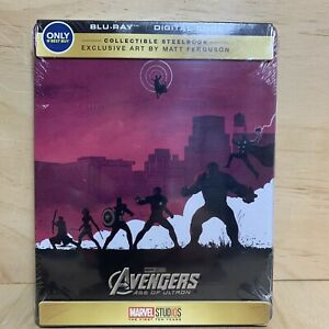 Avengers: Age of Ultron (Blu-ray Disc, SteelBook Only Best Buy) New Factory Seal