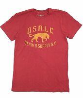 $121 Polo Ralph Lauren Men Red Tiger Logo Brand Crew Neck Fit T Shirt New Tee M