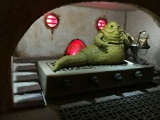 Custom Star Wars JABBA The Hutt's PALACE Diorama for 3 3/4 figure