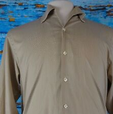 Equilibrio Men's Shirt Size Small Cotton S Italy Button Collar Casual Cool