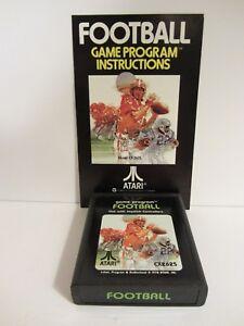 Atari 2600 - Football Game and Instructions by Warner  VGC   (119DJ18)