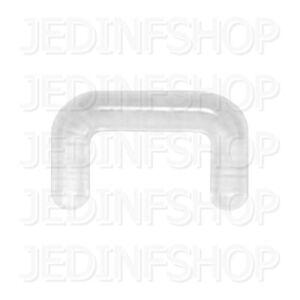 Retainer Hider - Septum Keeper U-Shaped Hider | 1.6mm (14g) - 6mm | Acrylic