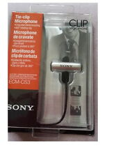genuine SONY ECM-CS3 Condenser Microphone ECM CS3 Business Microphone Tie-clip