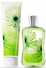 Bath & Body Works White Citrus Duo Triple Moisture Body Cream & Shower Gel