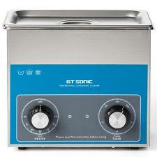 220V Stainless Steel 3 L Liter Industry Heated Ultrasonic Cleaner Heater w/Timer