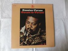 LP Houston Person: Person to Person! (US Prestige VG/VG)