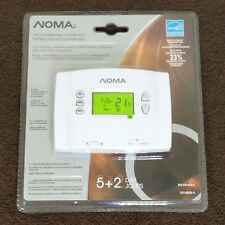 Thermostat Programmable Digital Noma 052-8826-A Central Heating Air Conditioning