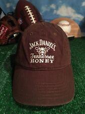 Jack Daniels Tennessee honey whiskey brown adjustable strapback hat Cap h23