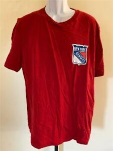 New New York Rangers Mens Size XL Red Shirt