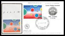 France (Exposition Philathélique )1982 - FDC - enveloppe premier jour