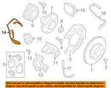 BMW OEM 11-17 X3 Rear Brake-Sensor 34356790304