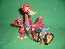 Playmobil Réf: 3327-A Chevalier/dragon rouge